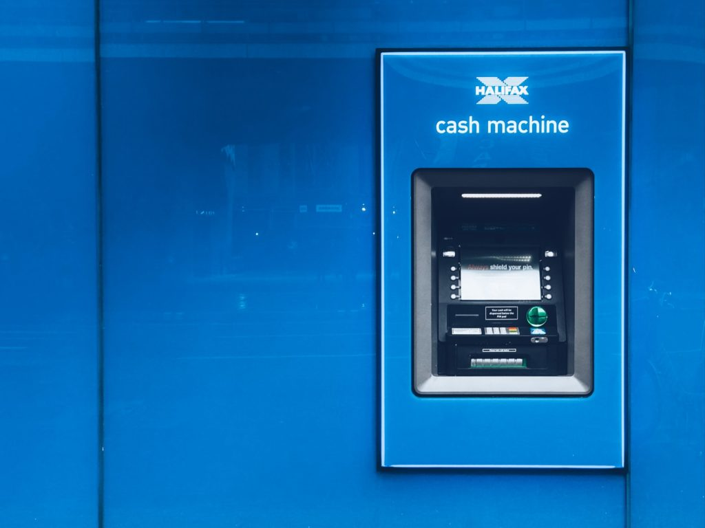 ATM - best to open a bank account in Mexico