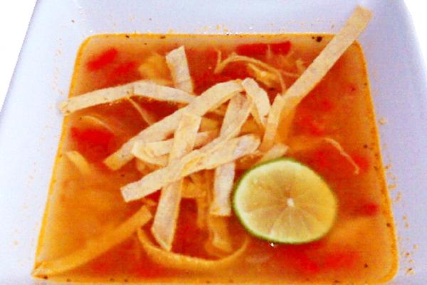 Sopa de Lima - Gastronomía de Playa del Carmen